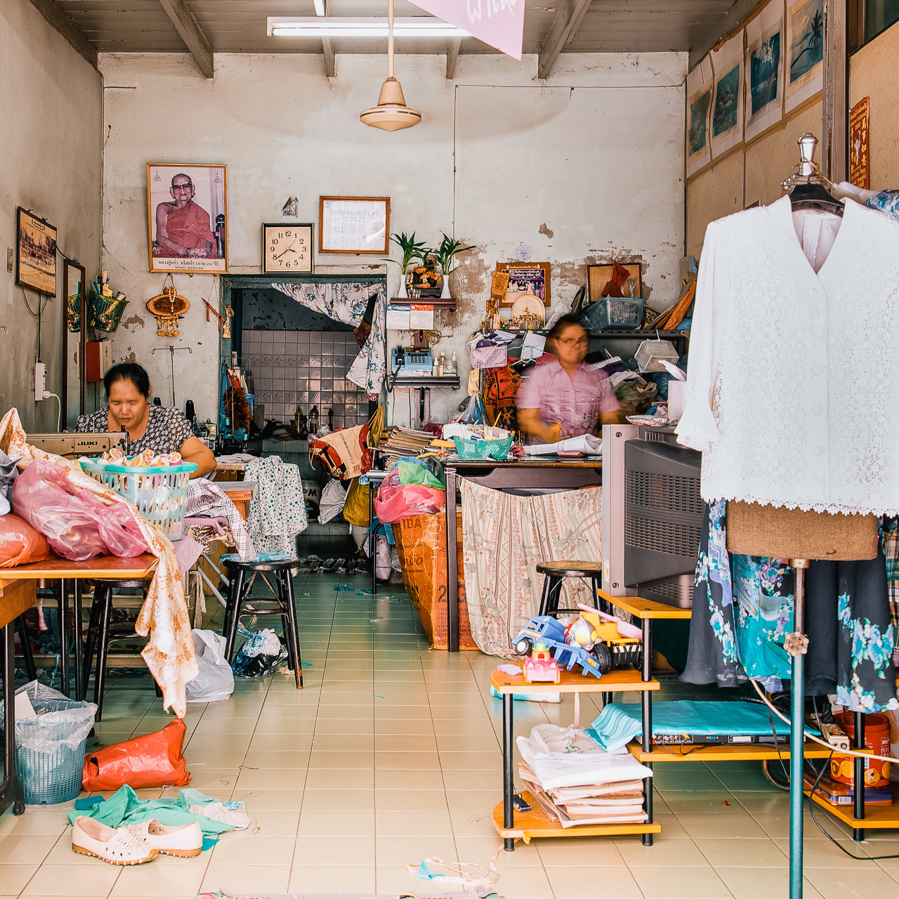 Shophouses - Sewing Room