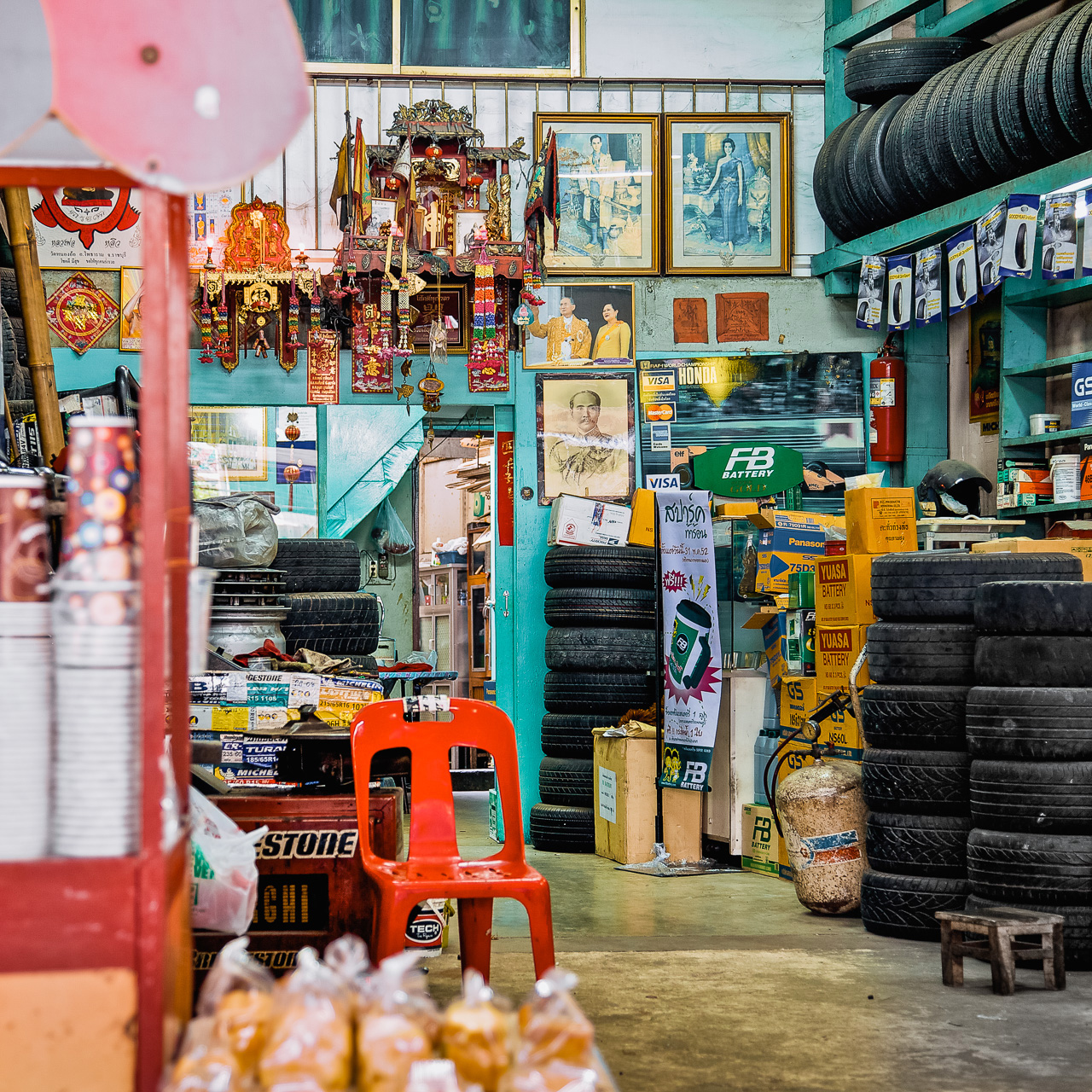 Shophouses - Tire Shop