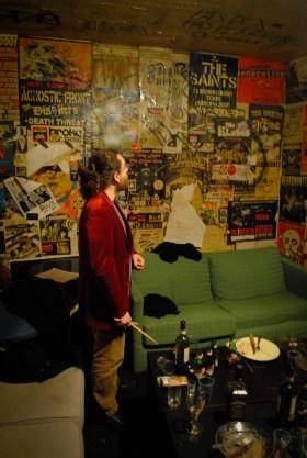 Backstage at Mondo Bizarro