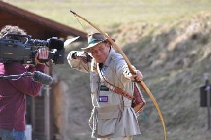 Master of the Longbow - Mr. Byron Ferguson, Alabama, USA. Photo by Herwig Art, 2010.