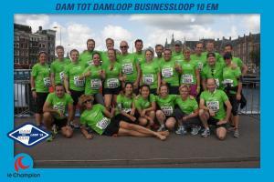 Peter Pan Vakantieclub en de 31ste Dam tot Dam loop