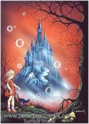 fantasy art drawing fantasy fantasy art fairy The Magic Castle Artist Peter Pracownik