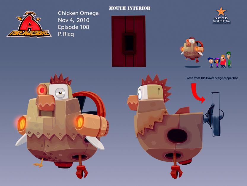 Chicken Omega - ... Yep