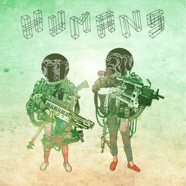 HUMANS poster 2011 - Ink on Illustration board