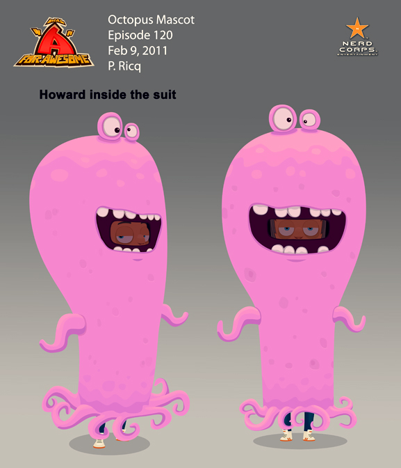 Octopus Mascot