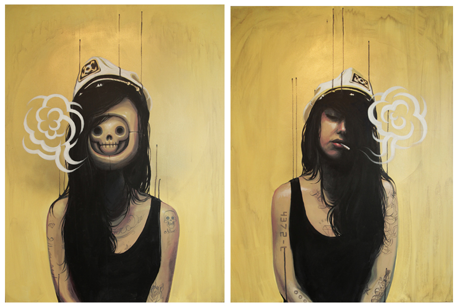 Doppelganger part 1 - 2013 - Acrylic on Canvas