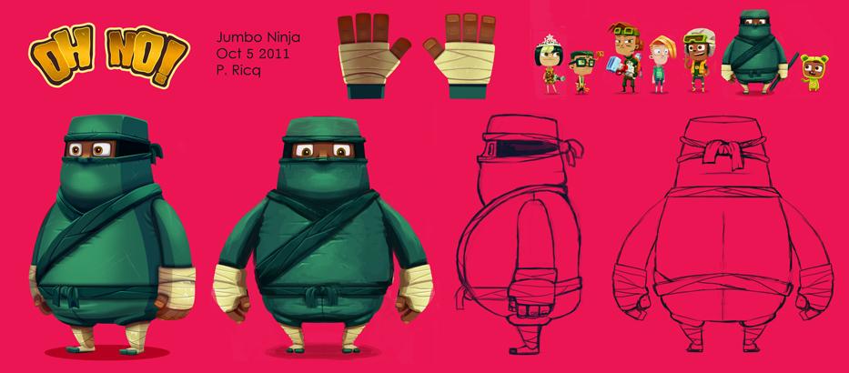 Jumbo Ninja Turnaround