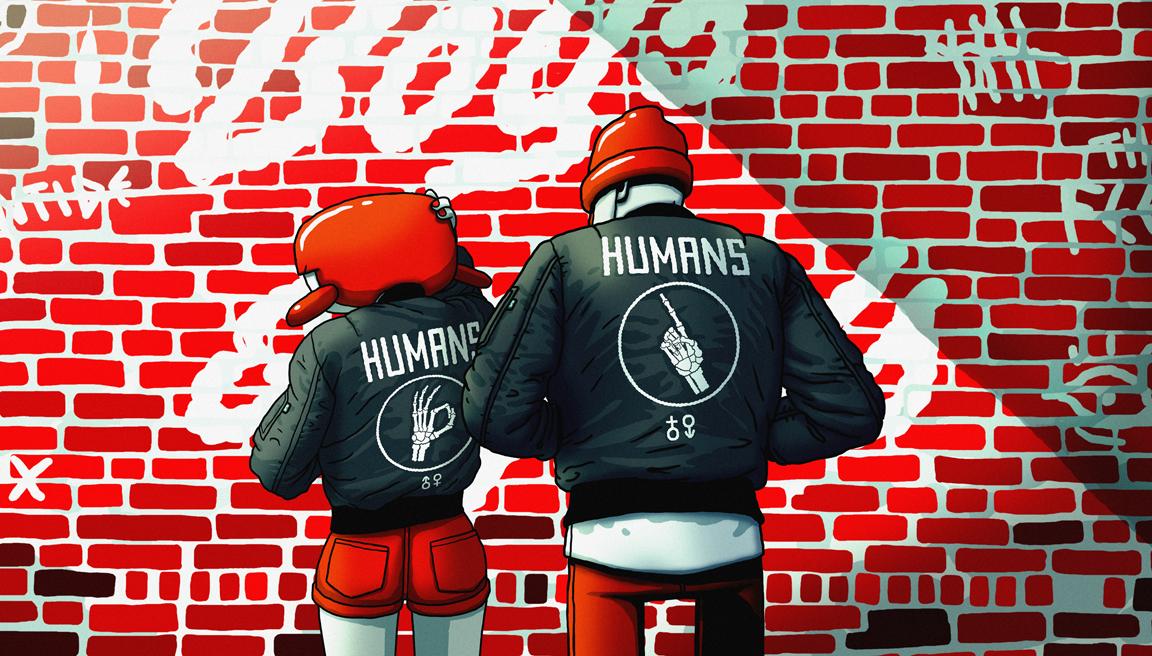 HUMANS B&G - 2017 - Digital