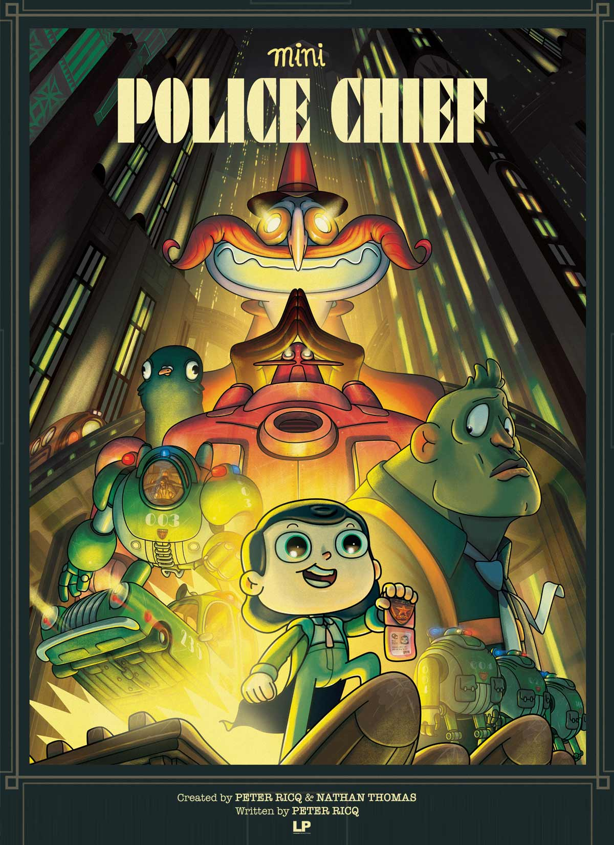 MINI POLICE CHIEF - 2D digital (Feature film adaptation of Stringbean Detective)