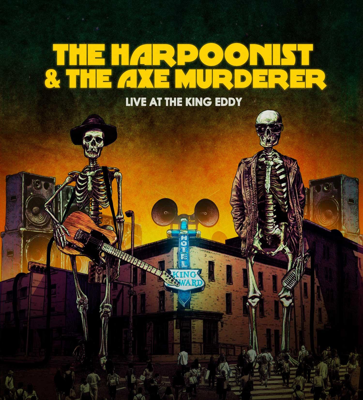 HARPOONIST & THE AXE MURDERER - Pencil & Photoshop