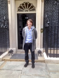 Filming at 10 Downing Street