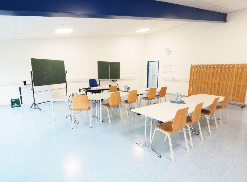 Peters Fahrschule: Schulungsraum in Tapfheim