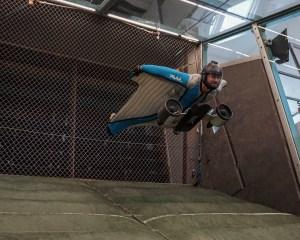Wingsuitpilot Peter Salzmann