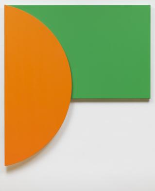 Orange Relief with Green 1991 Ellsworth Kelly 1923-2015 Presented by the American Fund for the Tate Gallery 1998 http://www.tate.org.uk/art/work/T07478