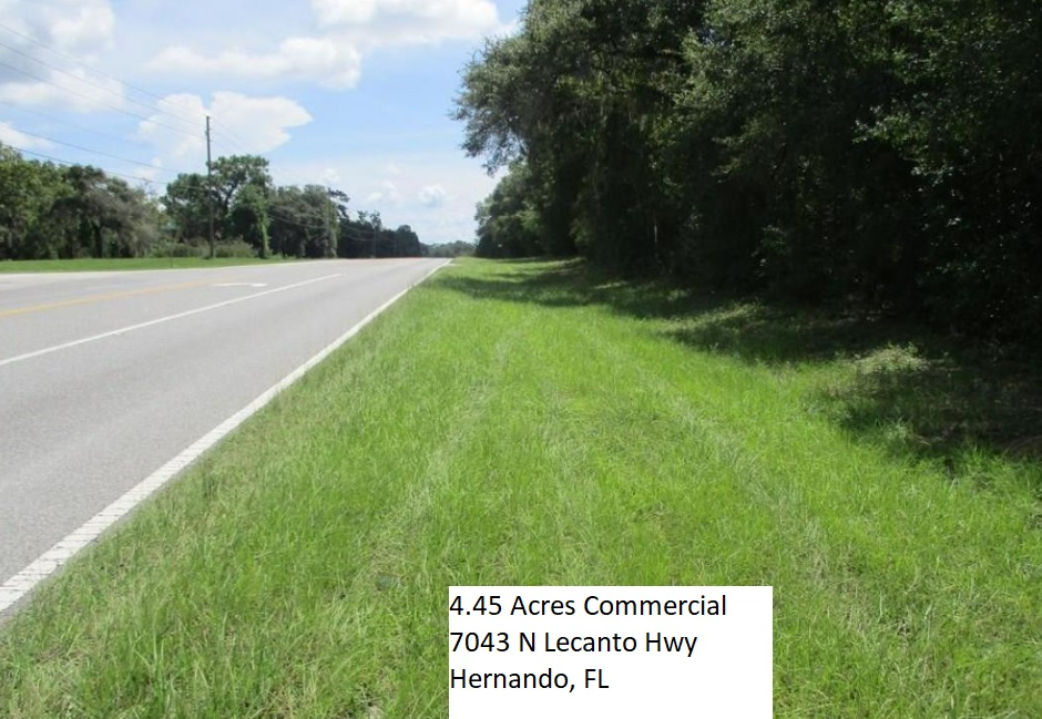 9 16 Acres Vacant Land Hernando Citrus County Florida