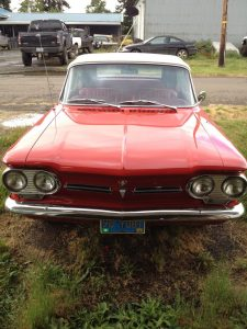 1962 Chevrolet Monza Convertible   Red