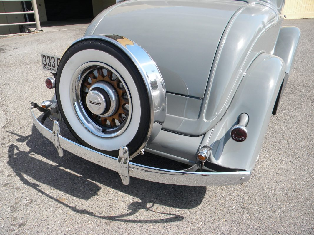 1934 Plymouth Coupe Grey