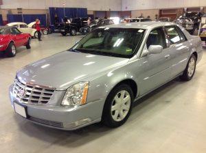 2006 Cadillac DTS Silver Blue