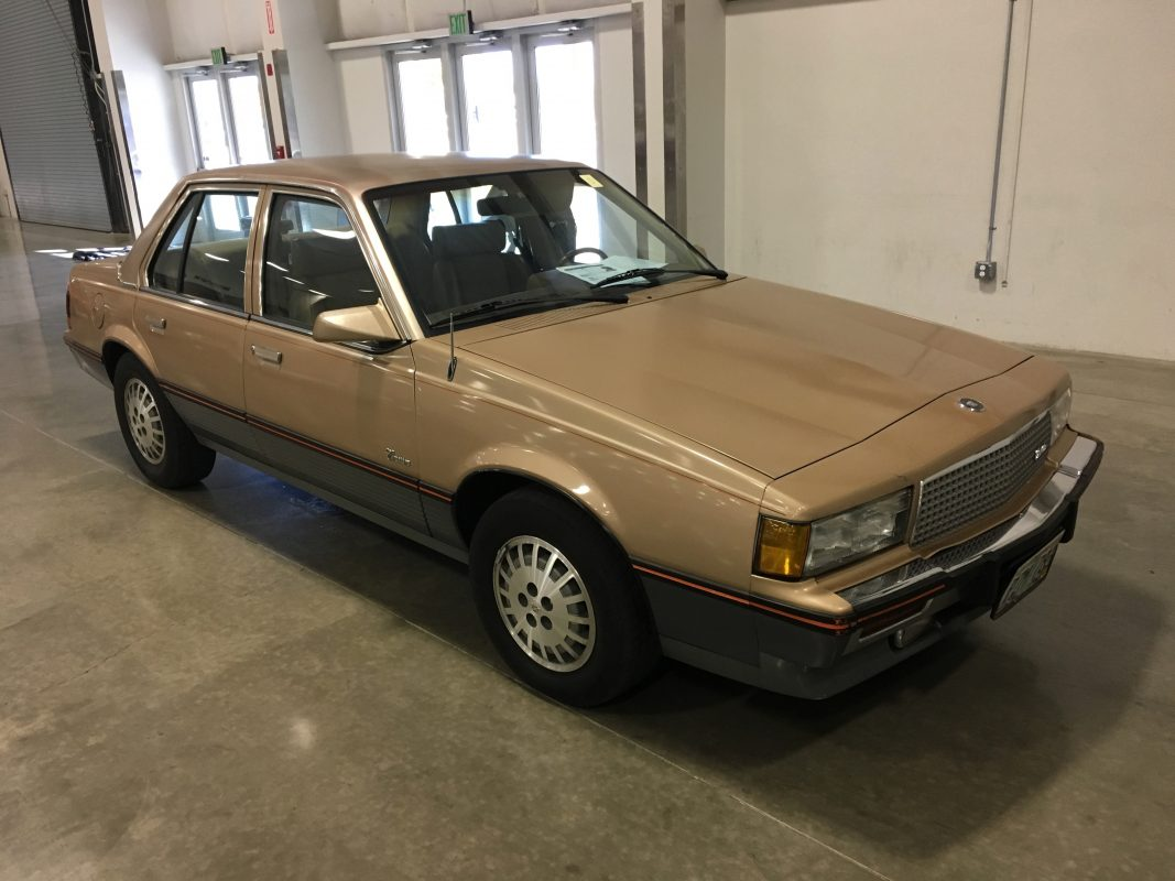 Lot 5    '87 Cadillac Cimmaron