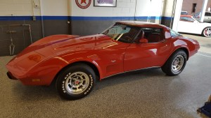 1979 Chevy Corvette Red
