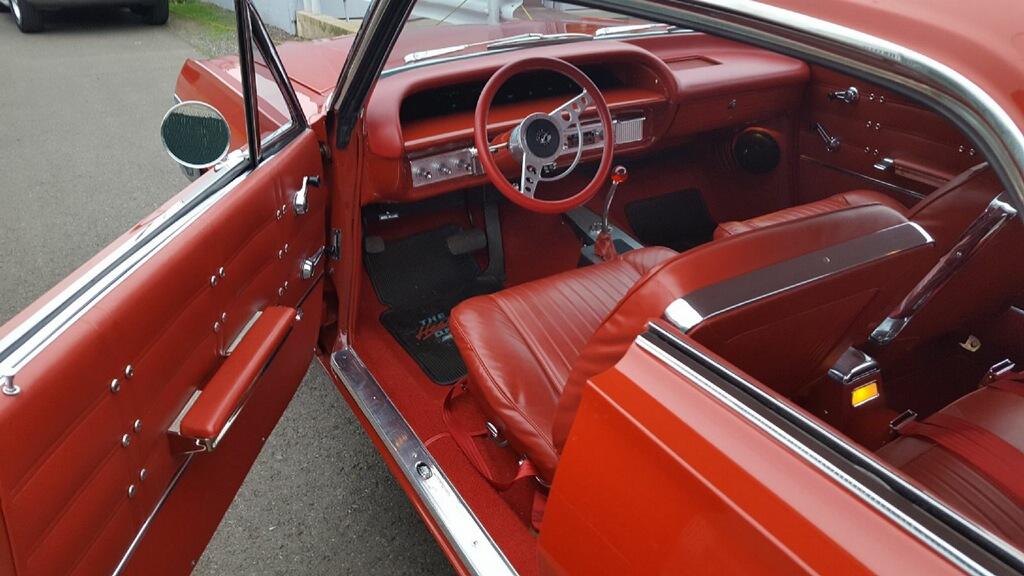 1963 Chevrolet Impala SS Red