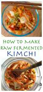 Boost your immune system with homemade Kimchi! Koreans have eaten Kimchee for over a thousand years. Raw and naturally fermented cabbage, full of natural probiotics and vitamins. Raw Fermented Kimchi Recipe
