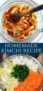 Homemade Kimchi will boost your immune system! Koreans have eaten Kimchee for over a thousand years. Raw and naturally fermented cabbage, full of natural probiotics and vitamins. Fermented Korean Kimchi Recipe