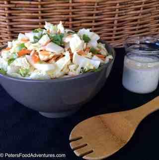 Creamy Asian Coleslaw with Cilantro