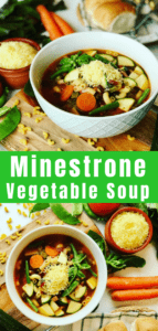 The perfect summer Minestrone Soup, packed with vegetables, fresh basil and parmesan - inspired by Jamie Oliver's Food Escapes in Venice. Jamie Oliver's Minestrone Soup Recipe