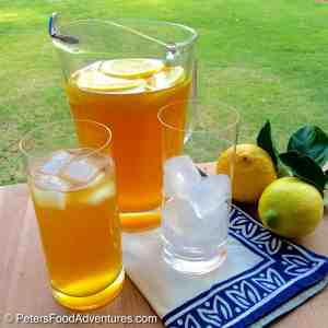 Sweet Lemon Iced Tea Recipe