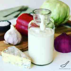 Blue Cheese Dressing Recipe From Scratch!