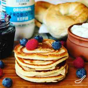 Oladi – Kefir Pancakes