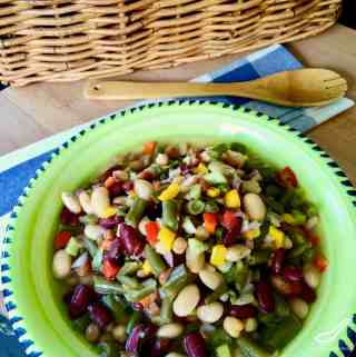 Easy 7 Bean Salad Recipe