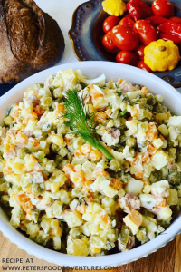 Russian Potato Salad - Oliver Salad