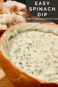 Classic Spinach Dip that everyone loves! Easy to make and full of flavour, a crowd pleaser at your next bbq or potluck. Easy Spinach Dip in 10 minutes
