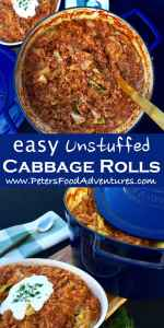 Quick & Easy One Pot Wonder with Ground Beef, Rice and Cabbage, almost a Casserole! Perfect When You Are in a Hurry! - Lazy Cabbage Rolls or Unstuffed Cabbage Rolls (Ленивые Голубцы)