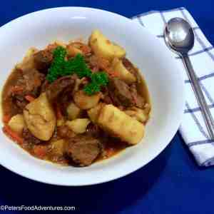 A classic winter beef stew common in Russia, Uzbekistan and across Soviet countries. Kavardak - Beef Stew (Кавардак) Recipe