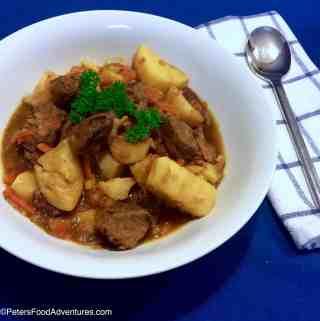 Kavardak Beef Stew (Кавардак)