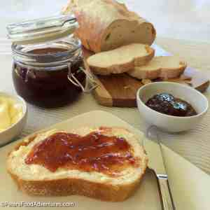 If you're lucky enough to find Loquats (Japanese Plums), you've got to try this delicious recipe - no pectin required! - Loquat Jam Recipe with Vanilla Bean (Japanese Plum Jam)
