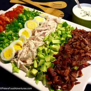 Easy Cobb Salad with Bleu Cheese Recipe