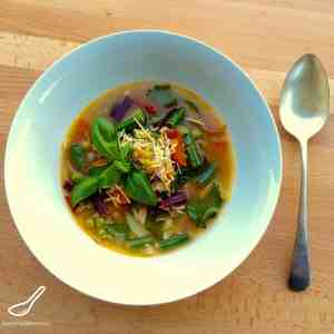 Minestrone Soup from Jamie Oliver's Venice Food Escapes
