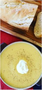 Everyone loves this cold weather Autumn favorite. Classic Pumpkin Soup or Squash Soup - Easy, creamy and delicious, with added potatoes, cumin and leeks, classic comfort food! Easy Creamy Pumpkin Soup with Leek