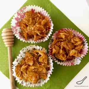 Honey Joys – Cornflake Cupcakes