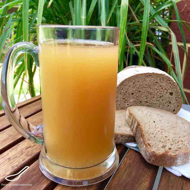A refreshing Russian summer drink, naturally fermented, chemical free and delicious! Not beer, but this delicious Russian Kvass Recipe (Квас)