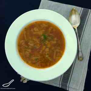 Schi - Russian Cabbage Soup (Щи)