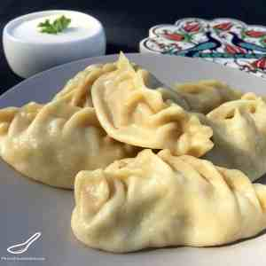 Manti Russian Steamed Dumplings (Манты)