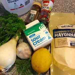 Bacon Ranch Salad Dressing & Dip Recipe