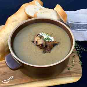Mushroom & Beer Soup (Грибной Суп)