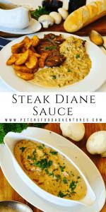 Steak Diane Sauce