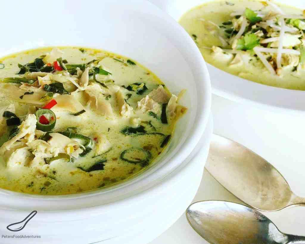 Thai Coconut Chicken Soup